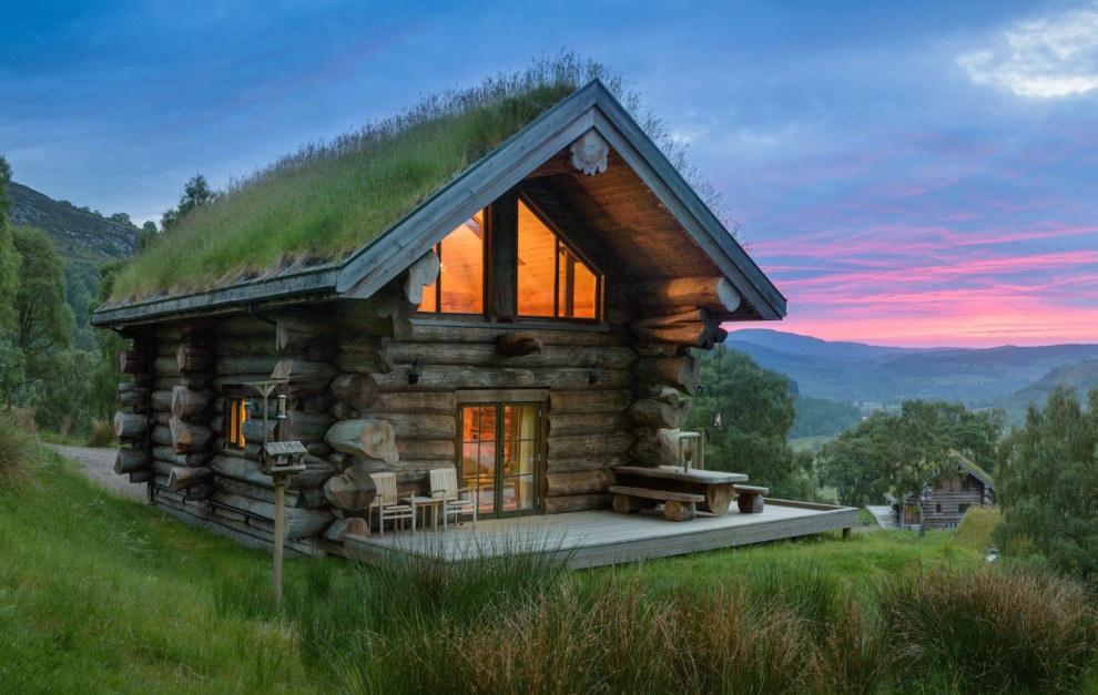 Stay in this fairytale eco-cabin in Glen Strathfarrar.