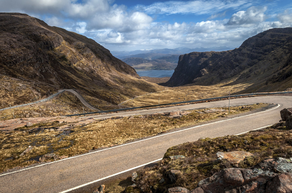 Drive or cycle across the Applecross Peninsula.
