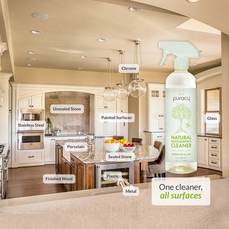 """Promising review: """"I have asthma and reactive airways, and this is the only cleaner I have found that doesn't make me cough or wheeze when I use it! I use it on everything from my quartz countertops to stainless steel appliances to bathroom surfaces. I can feel safe using this around my family and pets and know that not only am I cleaning household surfaces well but I'm not poisoning anyone with toxic ingredients! Love this stuff and will definitely be ordering again!"""" —Amanda W.Price: $13.29 (for a pack of two)"""