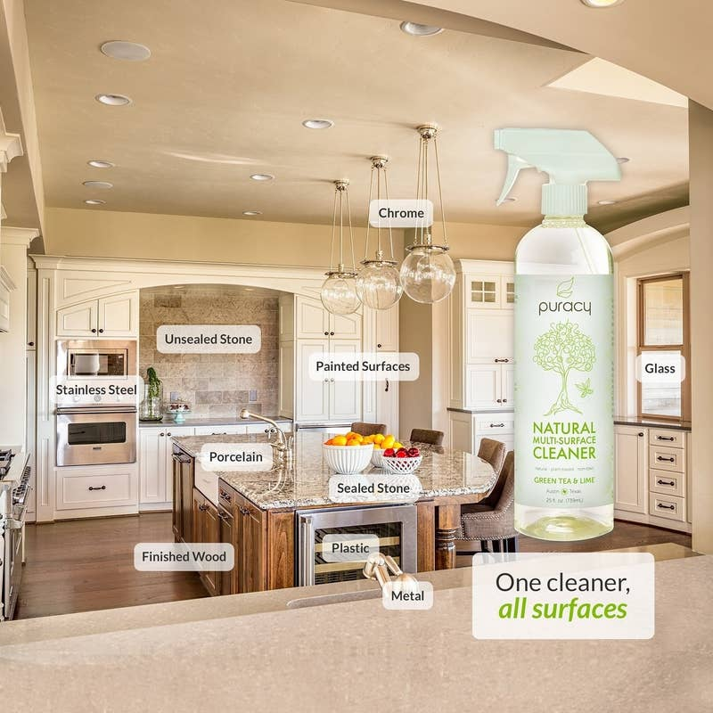 "Promising review: ""I have asthma and reactive airways, and this is the only cleaner I have found that doesn't make me cough or wheeze when I use it! I use it on everything from my quartz countertops to stainless steel appliances to bathroom surfaces. I can feel safe using this around my family and pets and know that not only am I cleaning household surfaces well but I'm not poisoning anyone with toxic ingredients! Love this stuff and will definitely be ordering again!"" —Amanda W.Price: $13.29 (for a pack of two)"