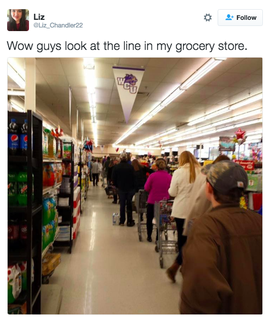 Grocery shopping for people who are not Mariah Carey: