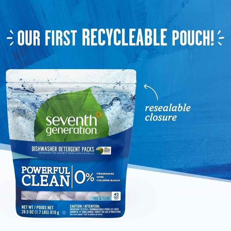 """Promising review: """"I have tried other natural and biodegradable dishwasher detergents before. I was looking for a detergent that would clean my dishes well without the harmful chemicals. I had a full load of dishes and it washed everything well. My glasses were spotless and my dishes were streak free."""" —Gr8 MomPrice: $19.99 (for 90 pods)"""