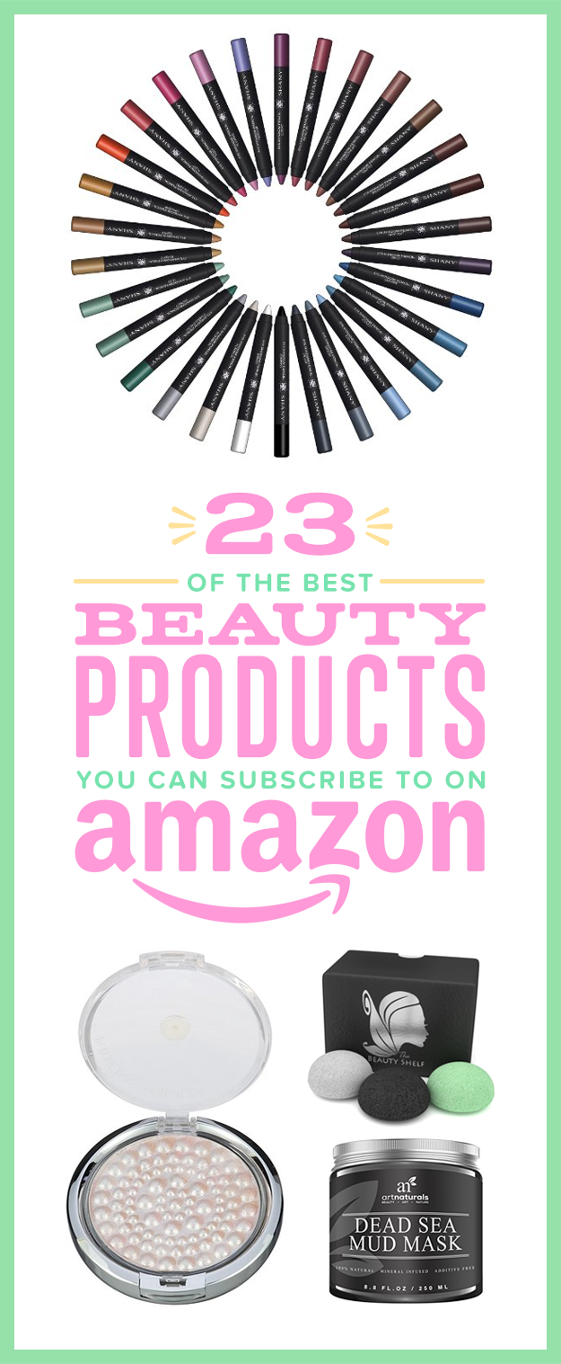 23 Of The Best Beauty Products You Can Subscribe To On Amazon