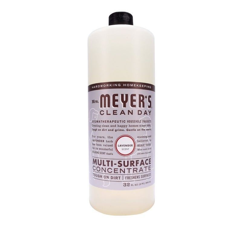 """Promising review: """"I love all Mrs. Meyer's products I've tried so far, but this is my favorite as it is SO economical! I've had a 32-ounce bottle for over a year and I only use this for all my cleaning. It cleans amazingly well, smells delicious, and I feel so much better using this than the harsh, chemical-laden stuff I used to use. I tried just vinegar & water for awhile, which is the cheapest (and arguably safest) cleaner, but I could not handle the awful smell. This is so cheap that I will never go back."""" —Chelsea HibbardPrice: $13.29 (for a pack of two)"""