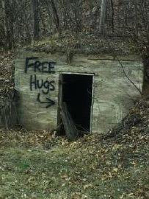 And who in their right mind would ever go inside here?