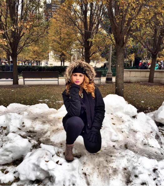 Taking a winter Instagram for people who are not Mariah Carey: