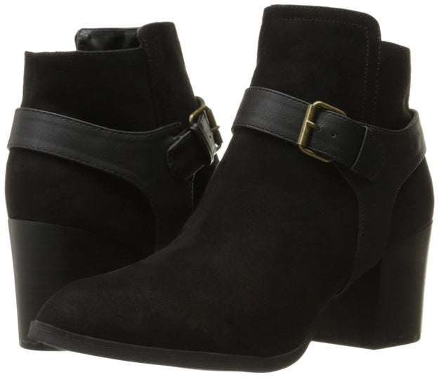 A pair of go-to booties that you'll never take off.