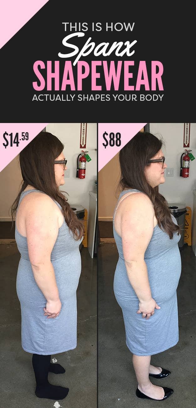 bd2049864 This Is How Differently Priced Spanx Can Actually Make Your Body Look