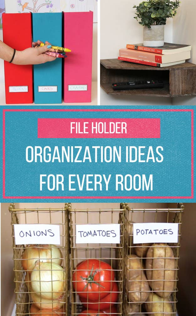 10 Ways To Use File Holders To Bring Some Order To Your Life