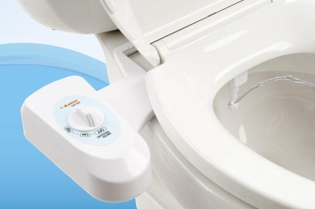 A bidet to make you distrust toilet paper.