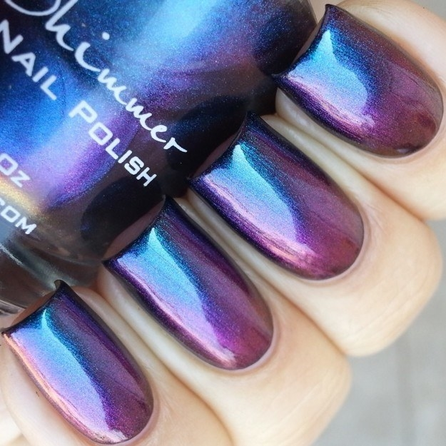 Color-shifting polish that will make your nails pop.