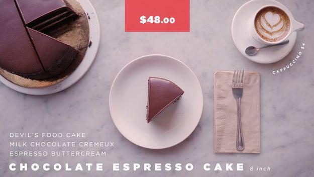 Proof Bakery Chocolate Espresso Cake Price