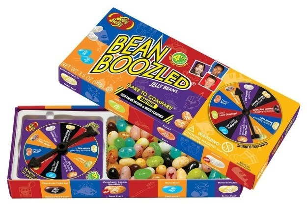 Jelly beans that will betray your palate and make you scrutinize everything you eat.