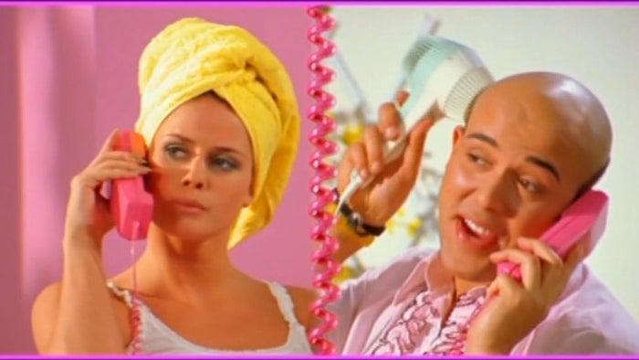 This song would stay stuck in your head for days on end after you heard it. The video recreated a colorful universe in which two of the Danish band members played Barbie and Ken. The only bad thing about this song is that Mattel sued them for using the name in their song's title. :O