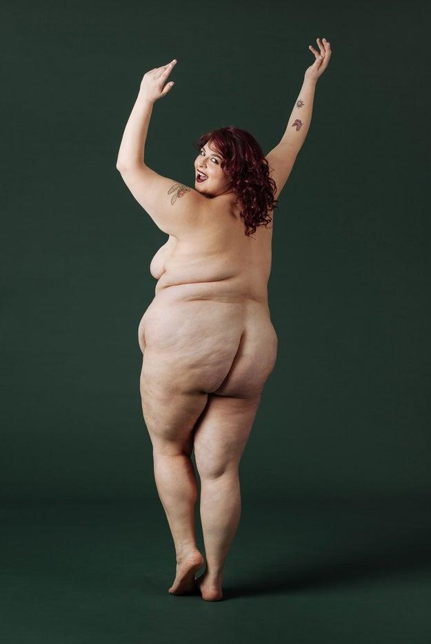 E a modelo e ativista Jewelz Mazzei, que sabe da importância de espalhar o amor ao corpo: