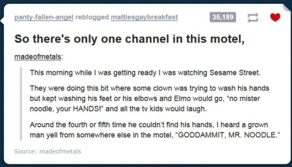 Mr. Noodle: