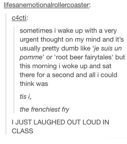 The frenchiest fry: