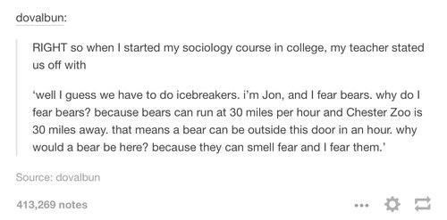 The bears: