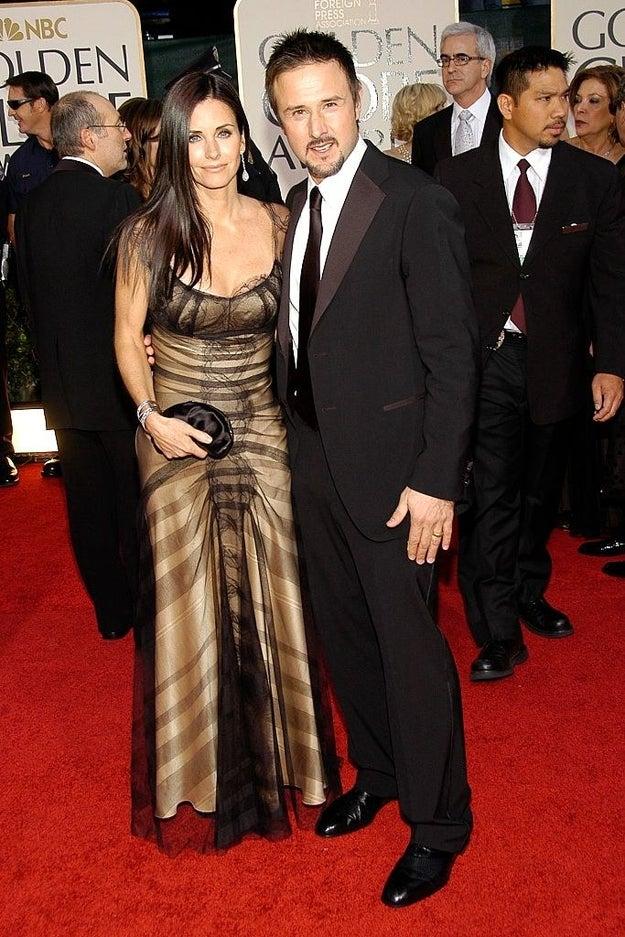 And so were Courteney Cox and David Arquette.