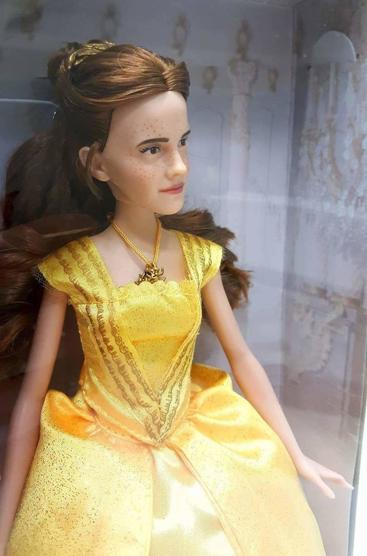 People Really Think This Beauty And The Beast Doll Looks Like - Justin bieber hairstyle right now