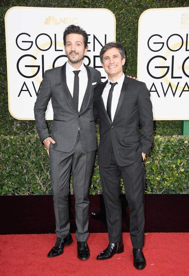Diego Luna and Gael Garcia Bernal