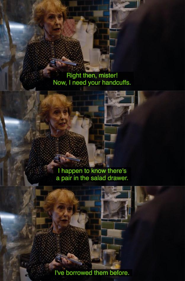 Fuck yeah, Mrs Hudson.