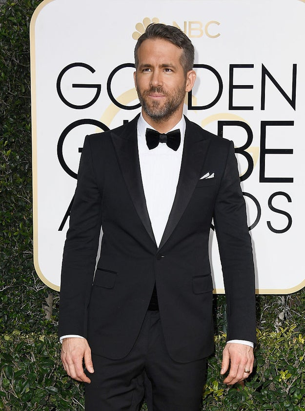 And here's the equally painfully beautiful Ryan Reynolds.