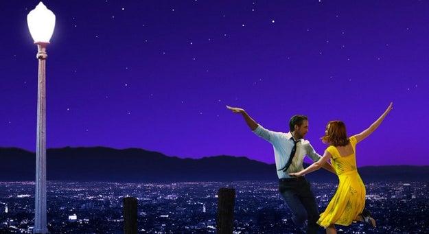 La cinta La La Land fue la gran ganadora de este año.