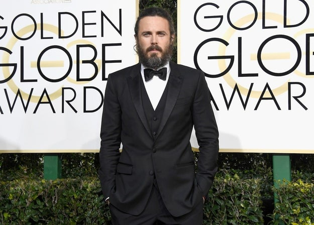 On Sunday, Casey Affleck won the Golden Globe for Best Actor in a Motion Picture in the drama category for his role in Manchester by the Sea.