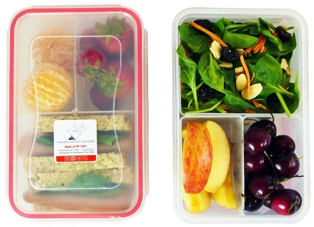 A set of bento boxes that'll make packing your lunch super easy.