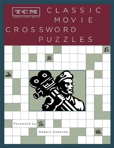 A book of crossword puzzles that'll test your knowledge of classic films.