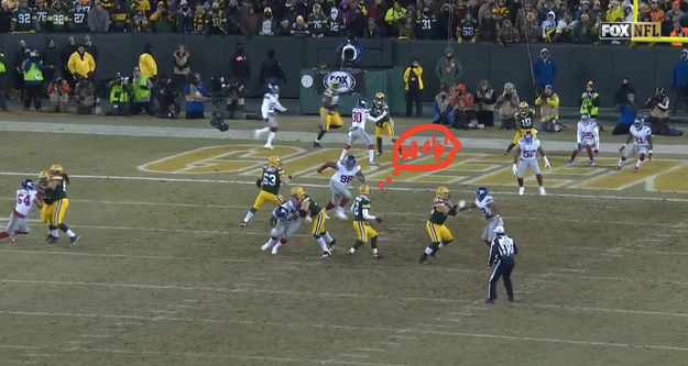Here's Rodgers about 5 seconds into this play, which is like an eternity in NFL time.