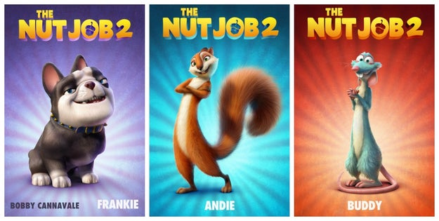 The Nut Job 2: Nutty By Nature, August 18th