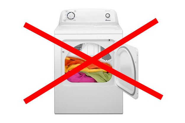 If a colored item bleeds onto other clothes in the wash, DO NOT PUT THEM IN THE DRYER.