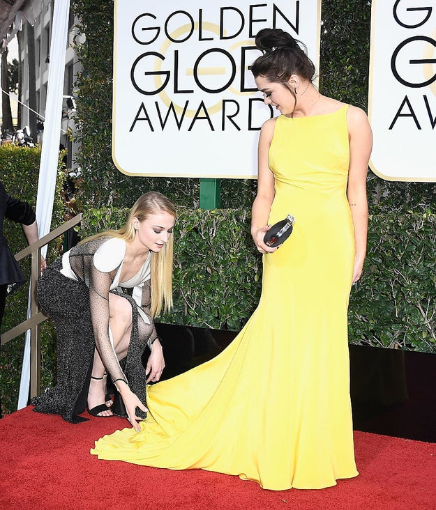 """Maisie (probably): """"Yes, Sophie, bow to MEEEEEE because I am your new many-faced god!"""""""