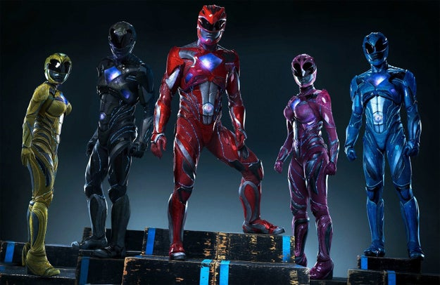 Power Rangers, March 24th