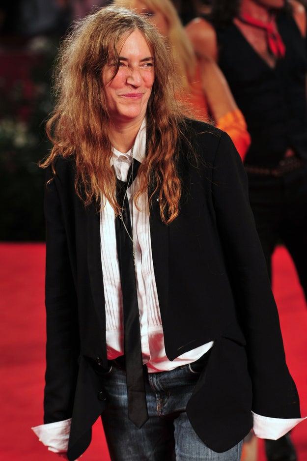 Patti Smith iria rir na sua cara se você dissesse que essa é uma nova tendência: