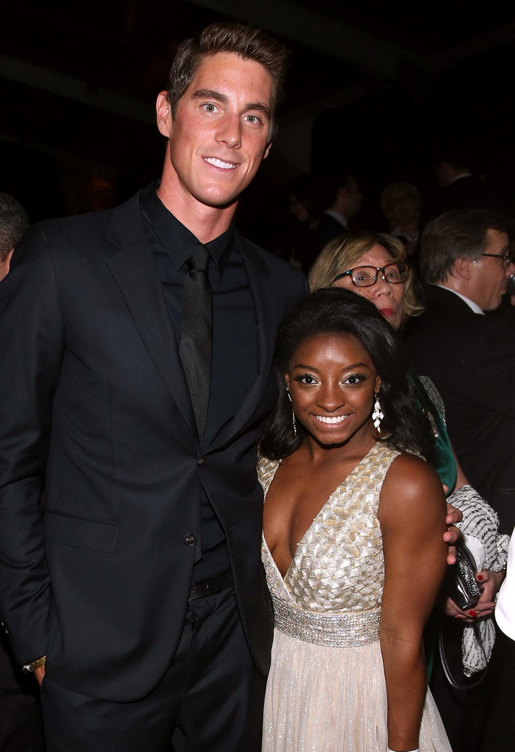 Conor Dwyer and Simone Biles