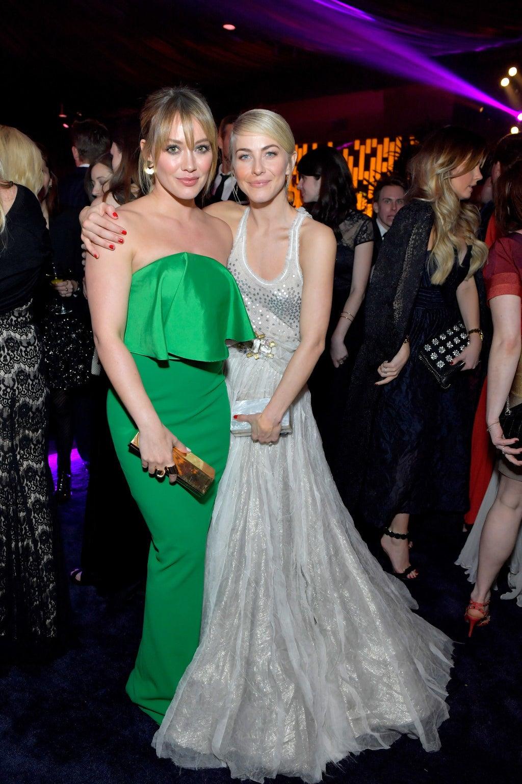 Hilary Duff and Julianne Hough
