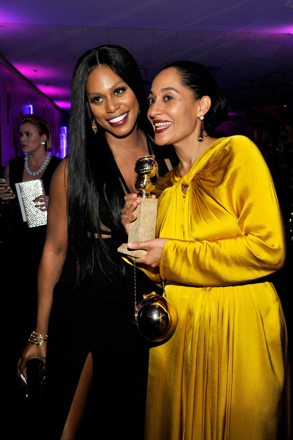 Laverne Cox and Tracee Ellis Ross