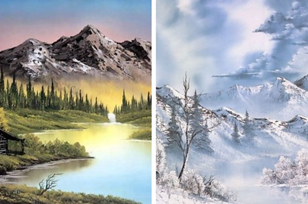 Which bob ross painting are you voltagebd Choice Image