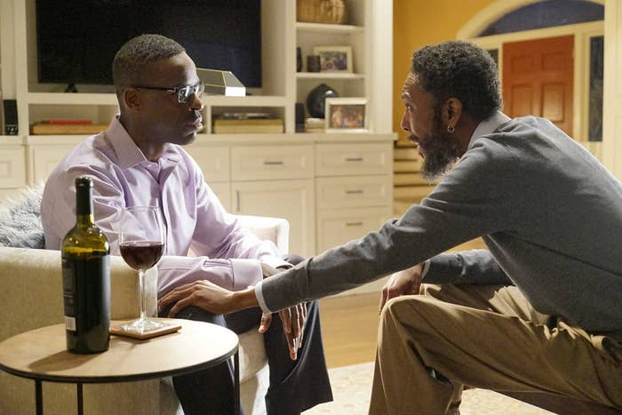 Randall (Sterling K. Brown) and William (Ron Cephas).