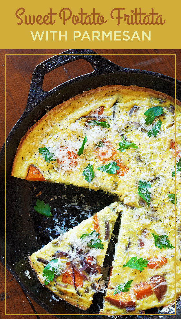 Oven-Baked Sweet Potato Frittata