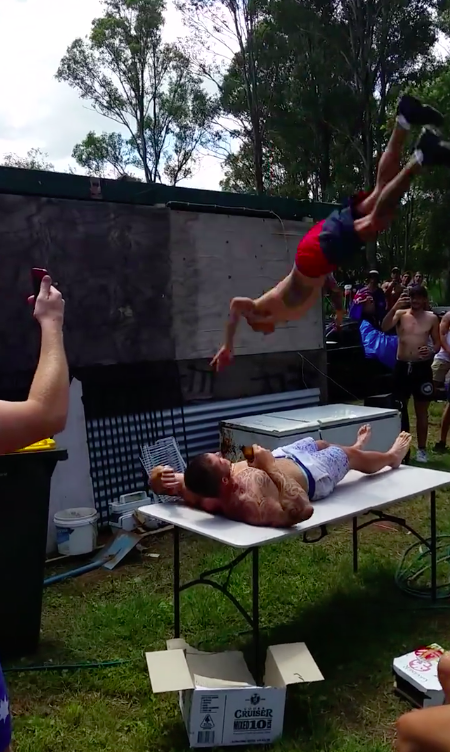 Thousands Of People Are Throwing Themselves Through Tables
