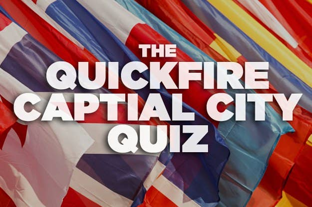 The Hardest Capital-City Quiz You'll Take Today