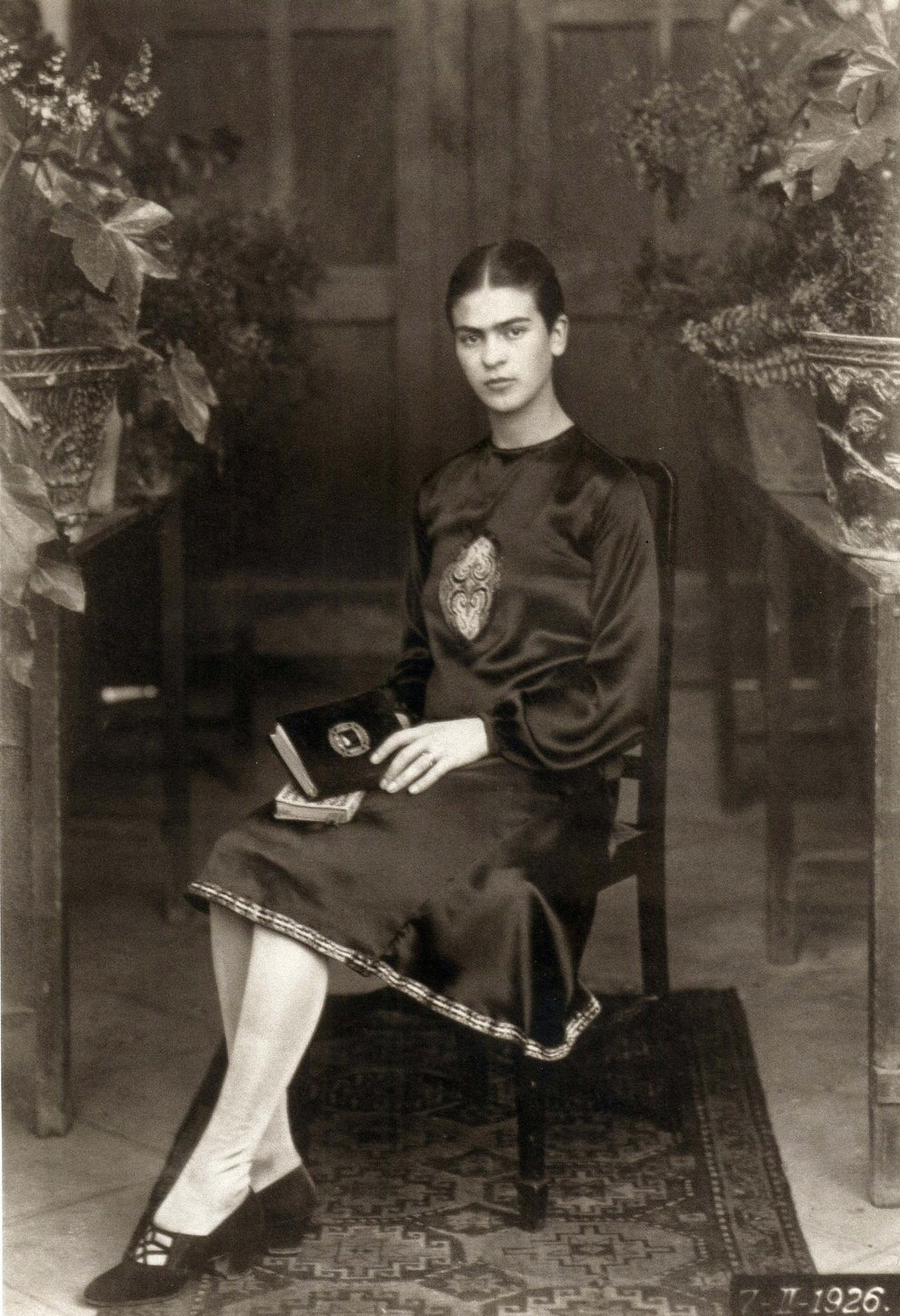 beautiful pictures from frida kahlo s incredible and difficult life frida kahlo at 18 in guillermo kahlo 1926 throckmorton fine art the harn museum of art