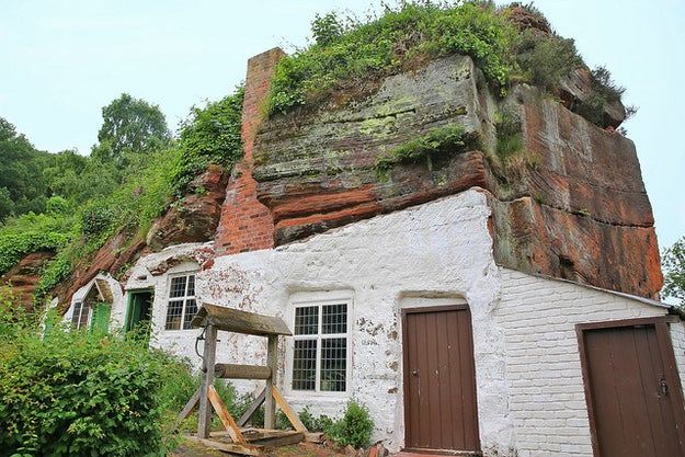 Kinver Rock Houses, Staffordshire