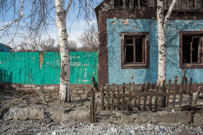 Avdiivka, a government-held industrial town home to nearly 20,000 people, has seen heavy battles for nearly four days on Wednesday, while both Ukrainian soldiers and Russian-backed forces accuse each other of violating a truce and launching heavy weapons.