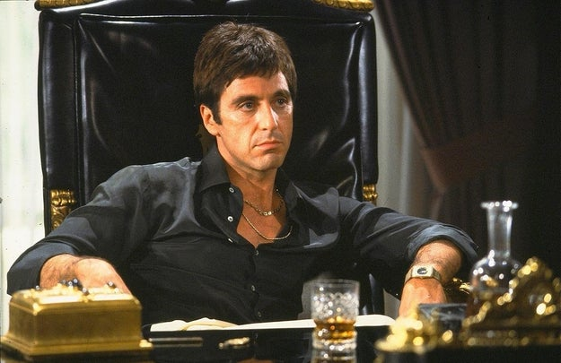 Al Pacino starred in Scarface back in 1983, famously playing the role of Tony Montana, a Cuban immigrant who rose to power during the 1980s cocaine boom in Miami.