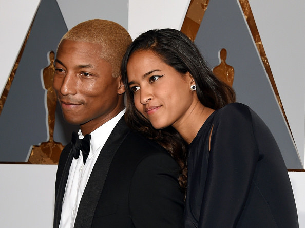 Pharrell Williams and Helen Lasichanh (Triplets)